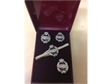 Chrome Cufflink Set (0262 B4)