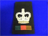 WO2 Rank Slide. Single (0207 B4)