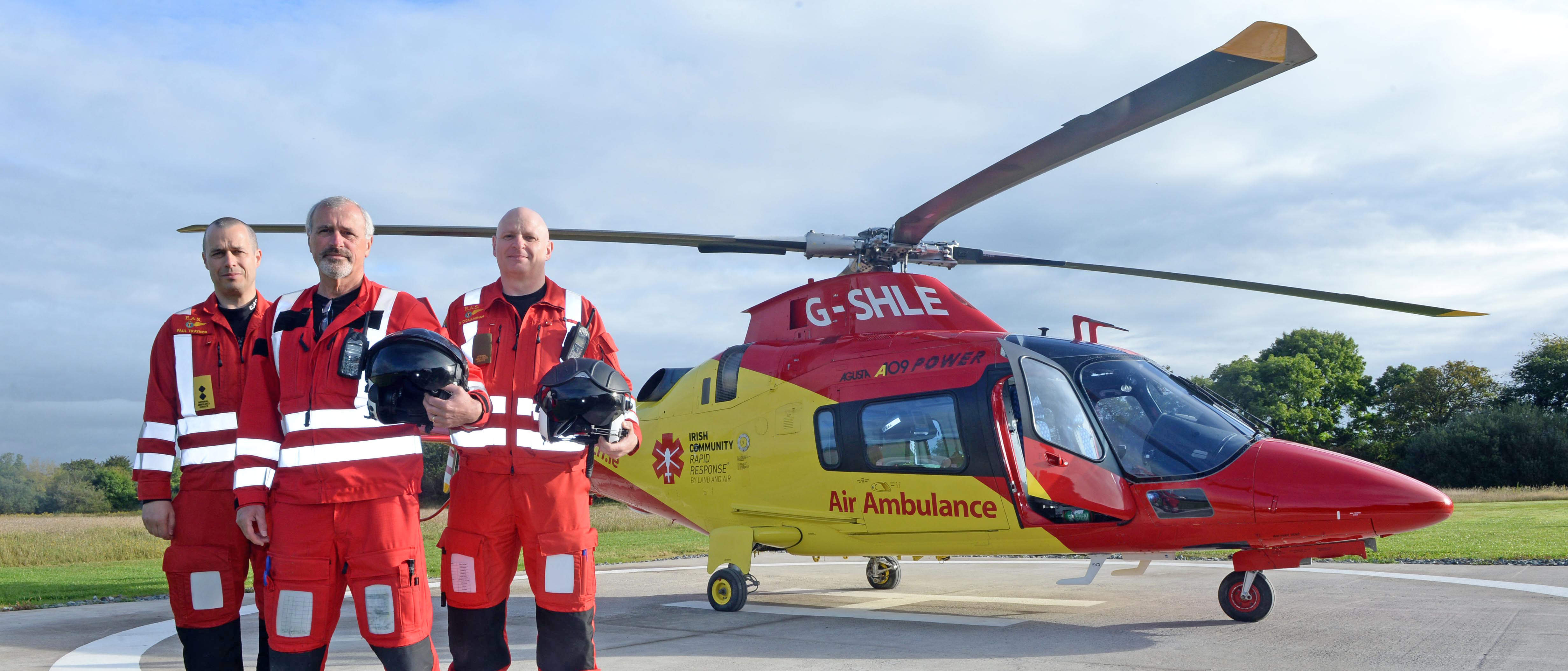 Irish Charity Air Ambulance delivers 56 missions in first month
