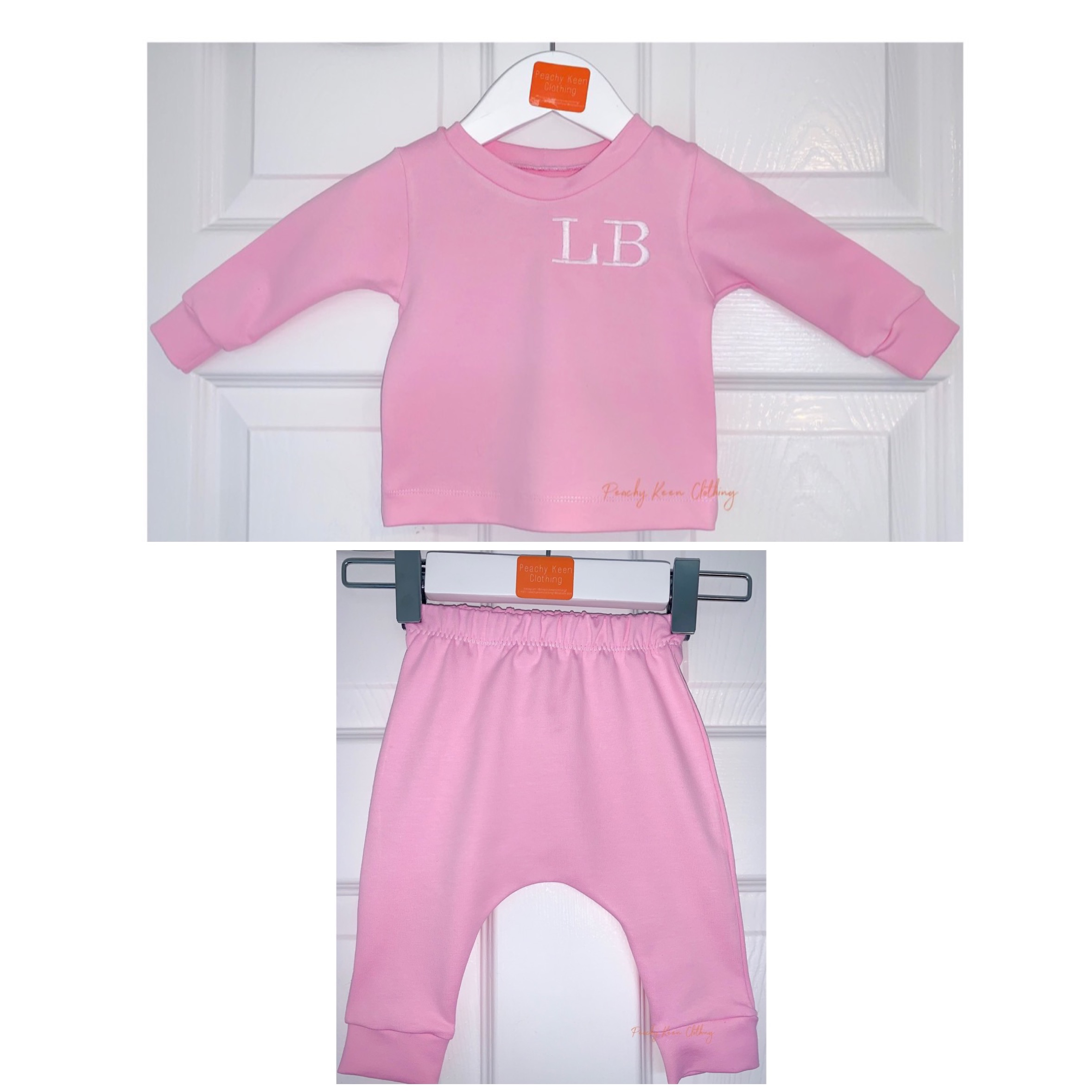 Pink Personalised Set