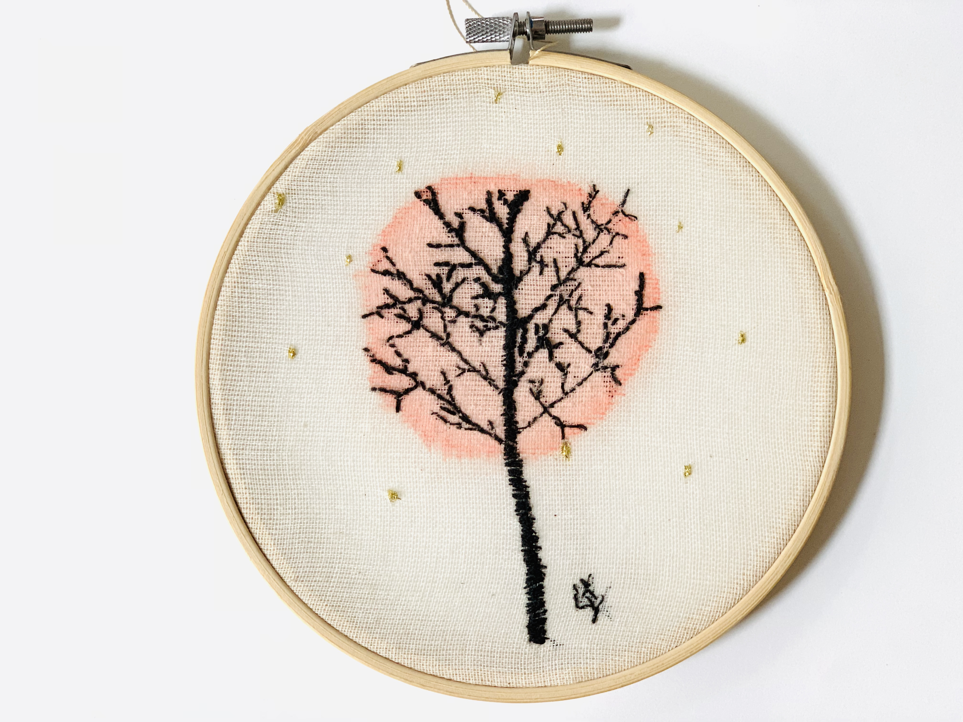 XLY embroidery 'little tree'