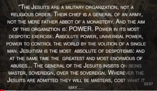 The Jesuits are a military order