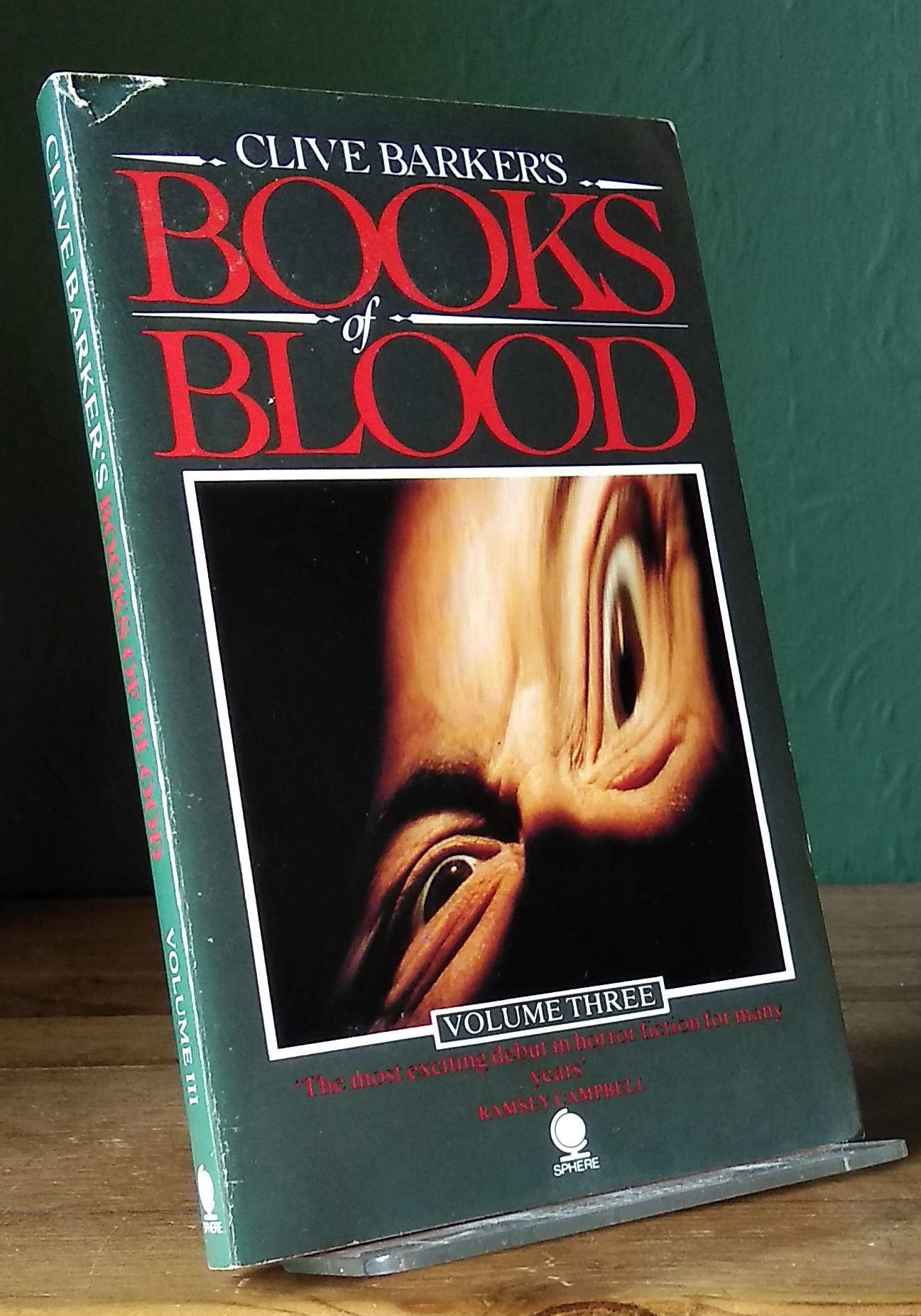 The Books Of Blood Vols 1,2 & 3 UK PBO's