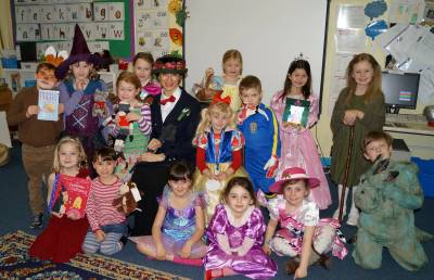 Pupils dress to impress for World Book Day
