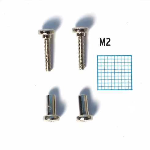 Set of coverplate screws for Chromatic
