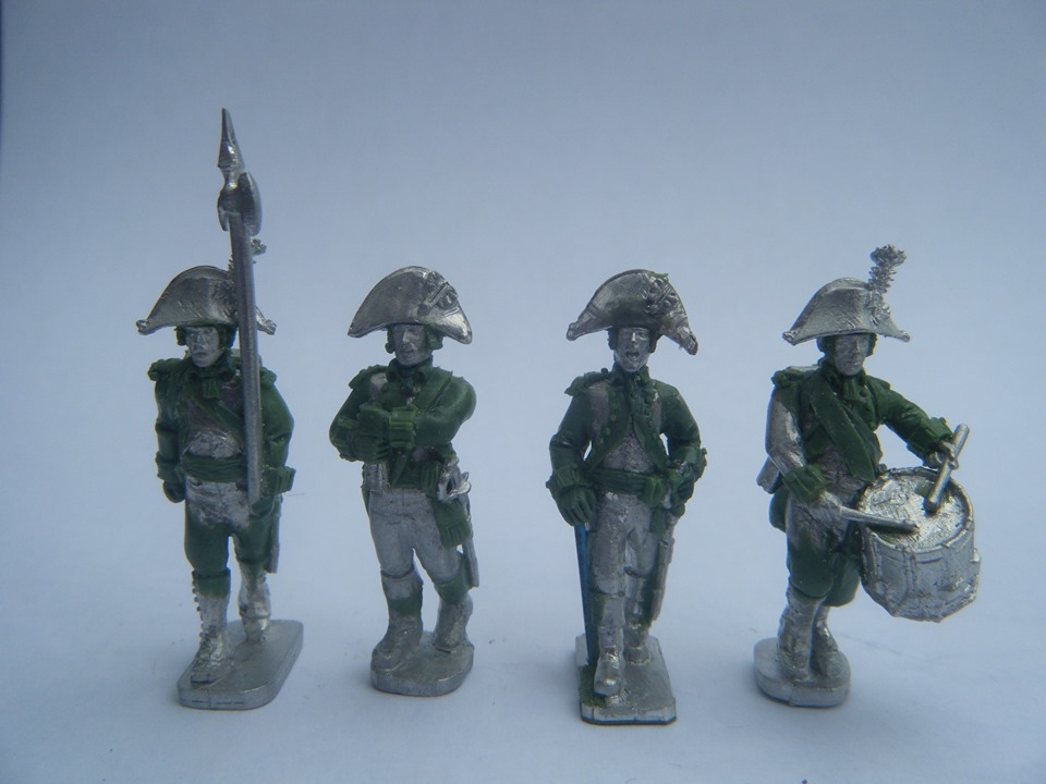 Britis Infantry Command 1793