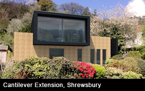 Cantilever Extension Shrewsbury