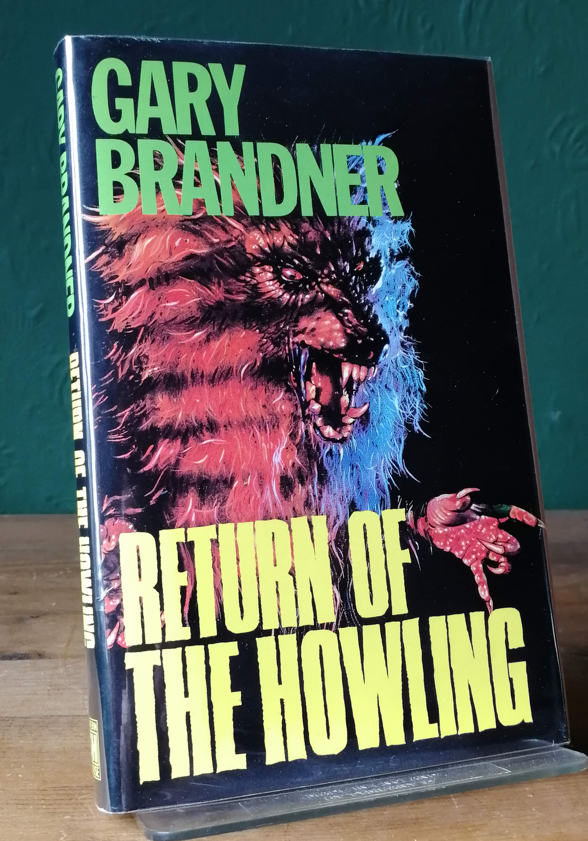 Return Of The Howling UK First Edition
