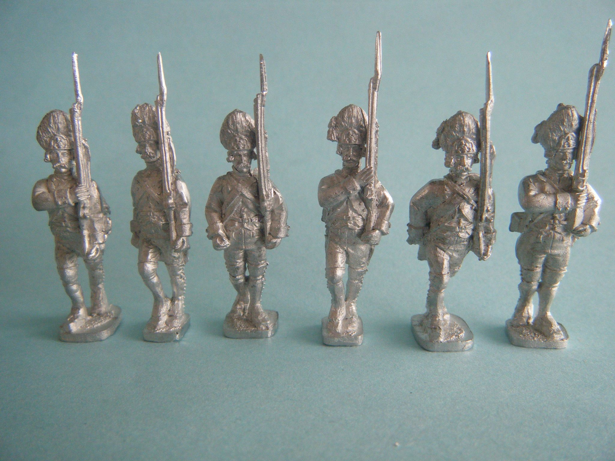 Saxony Guard or Grenadier infantry 1806 PREORDER