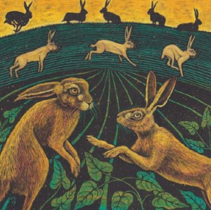 A Trip of Hares