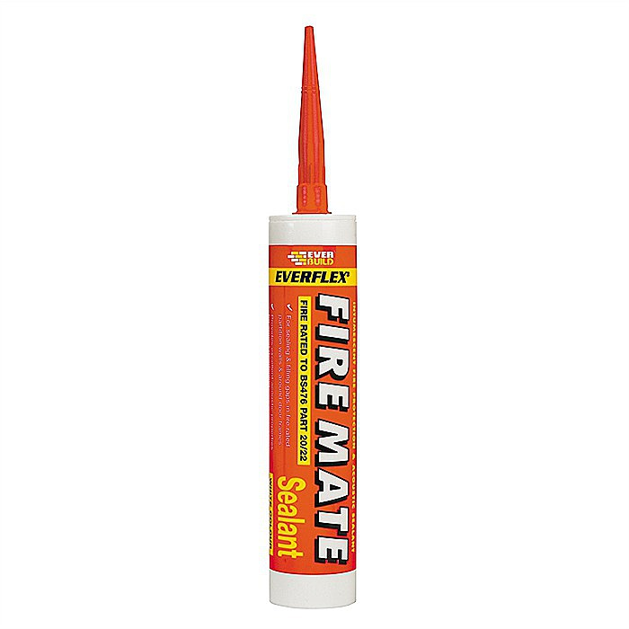 EVERBUILD FIRE MATE INTUMESCENT MASTIC, 25 TUBES PER PACK