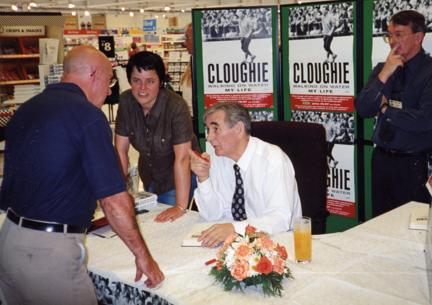 Cloughie makes a point