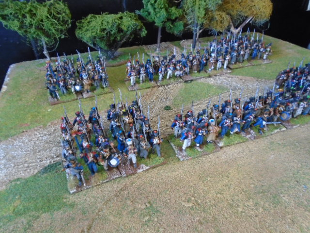 Perry Minaitures French Brigade painted to order