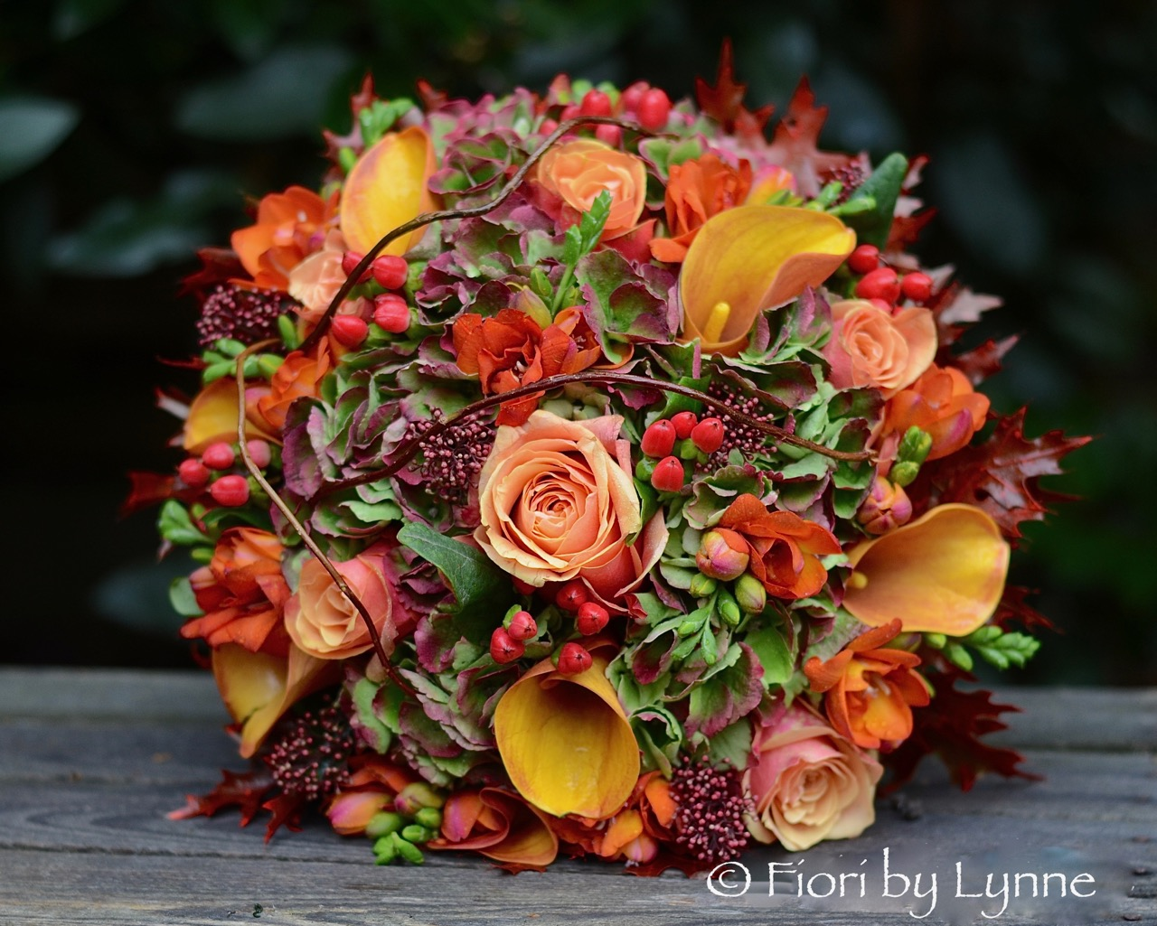autumnal-bouquet,orange-rose,callaLily,berry,freesia,oak-leaves,twig.jpg