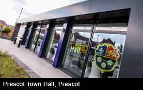 Prescot Town Hall, Prescot