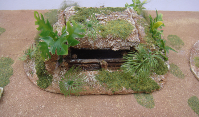 Japanese jungle bunker for bolt action