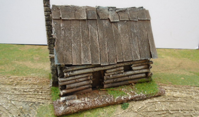 LOG CABIN AMERICAN OLD WEST AWI ACW