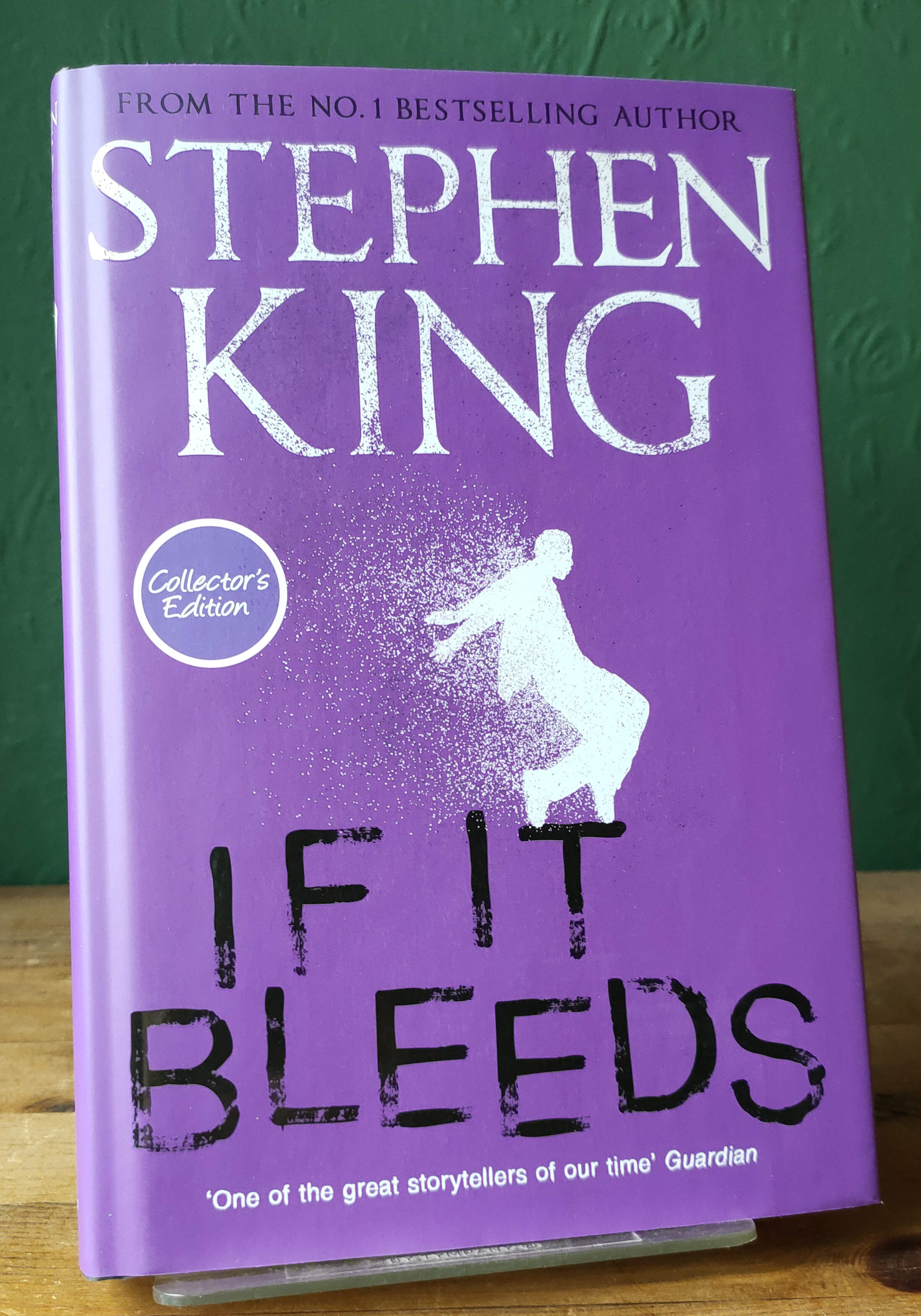 If It Bleeds UK First Collectors Edition