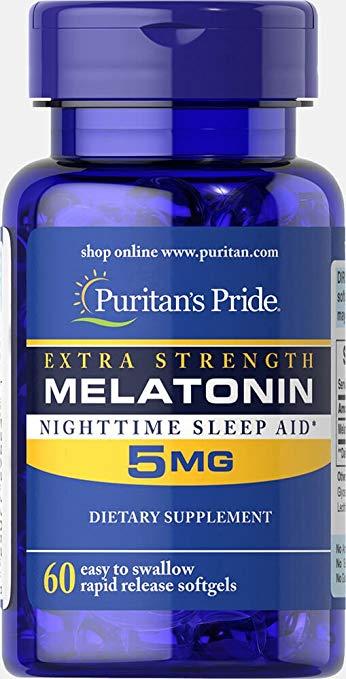 Sallutar Suplementos melatonina 5mg 60 tabsDescriçäo Imagem