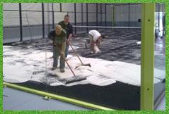 instalacion césped artificial campos futbol