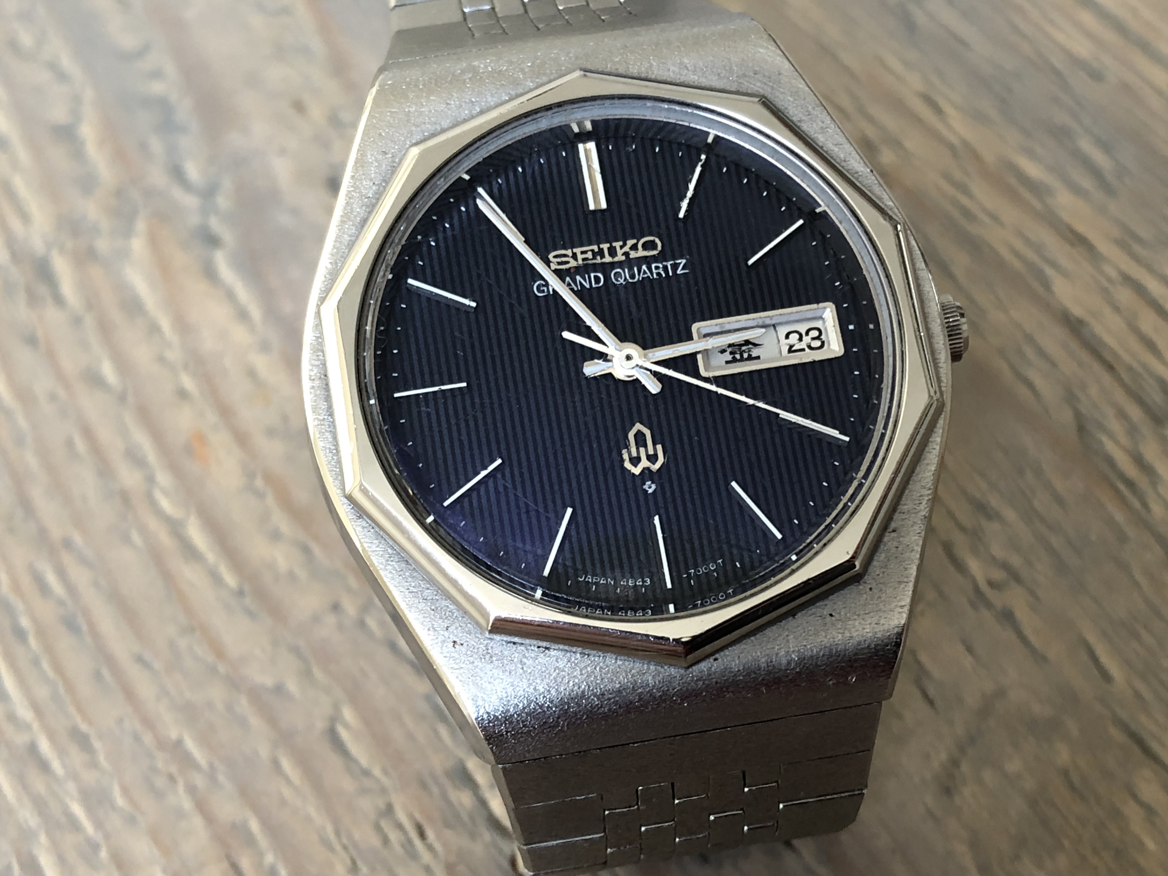 Seiko Grand Quartz 4843-7000 (sold)