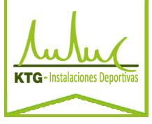 KTG, Instalaciones Deportivas en España