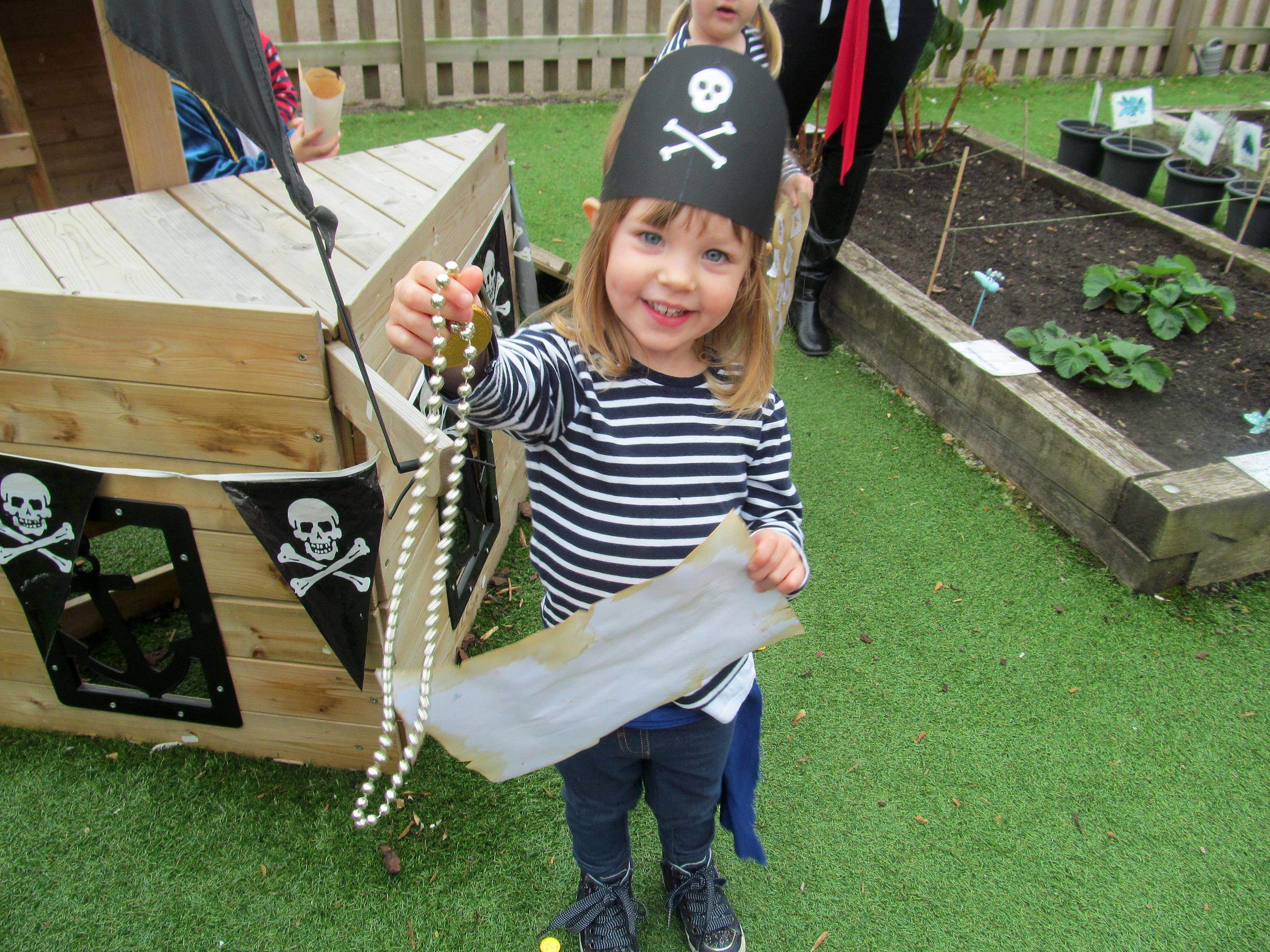 Pirates Invade Kidderminster Nursery