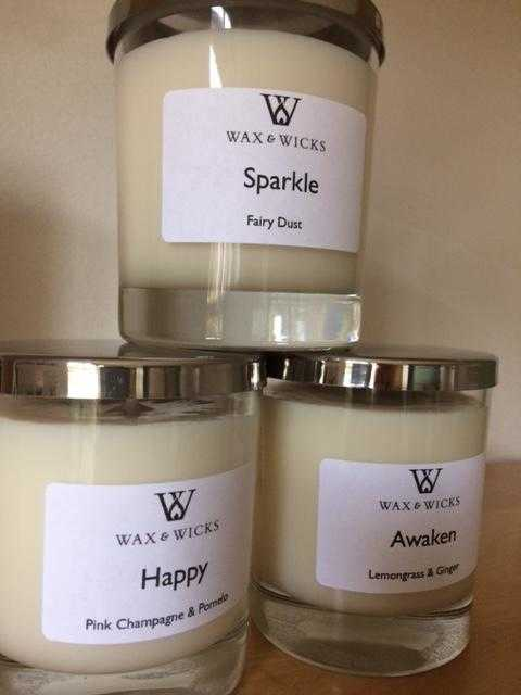 Sparkle luxury mood candle
