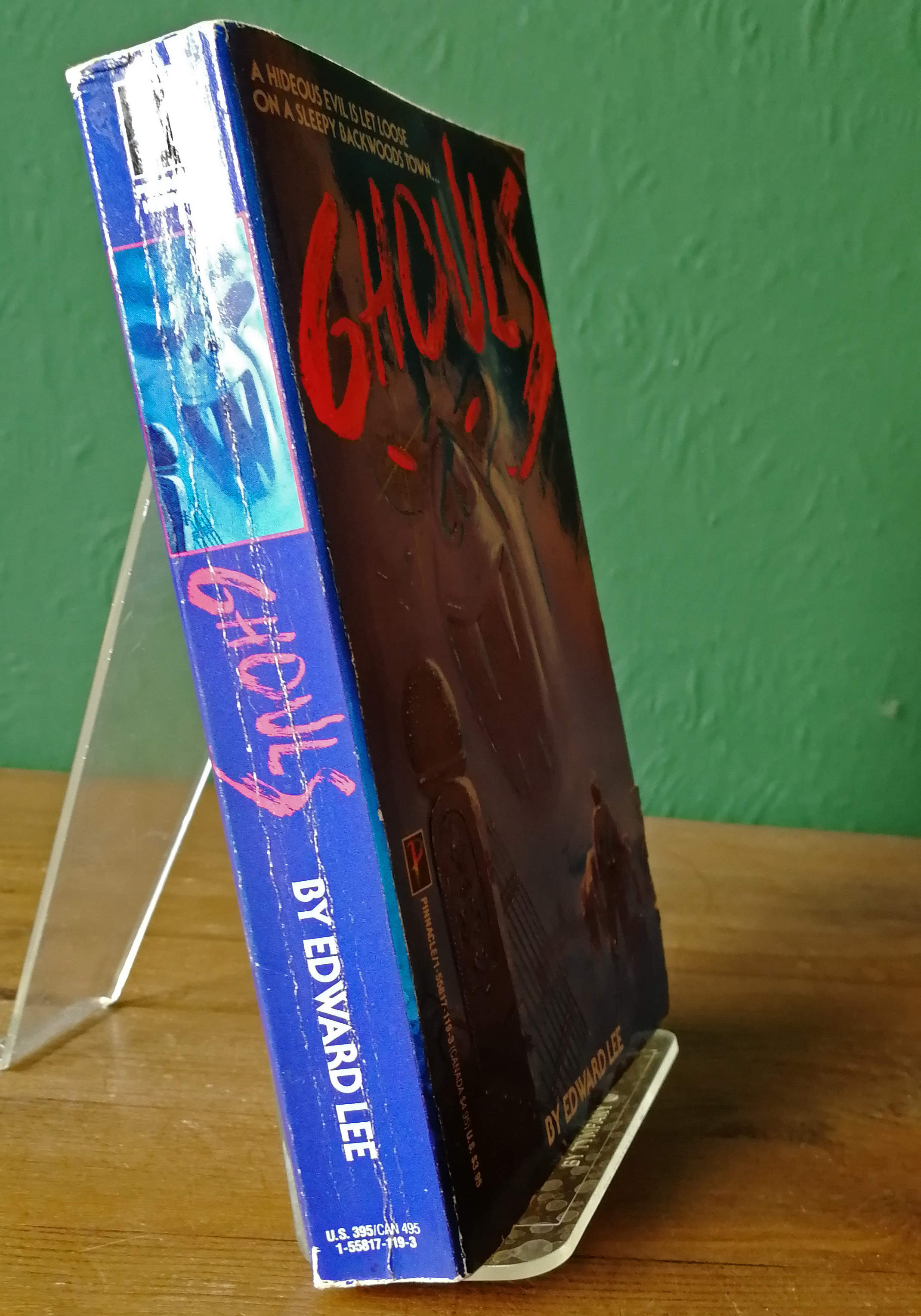 Ghouls Signed US Paperback