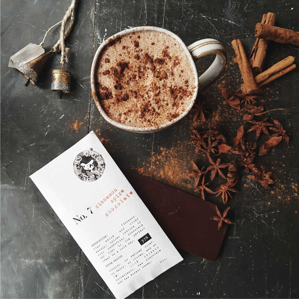 No. 7 cinnamon spice chocolate