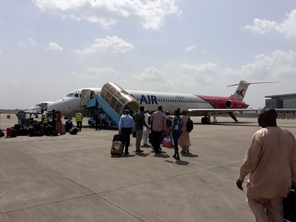Nigerian airports reopening for domestic flights first