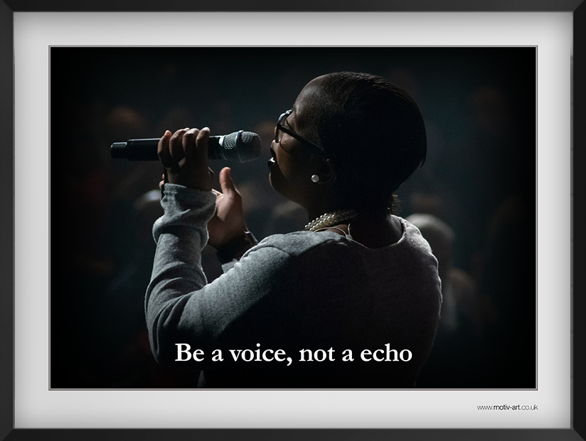 Be a voice...