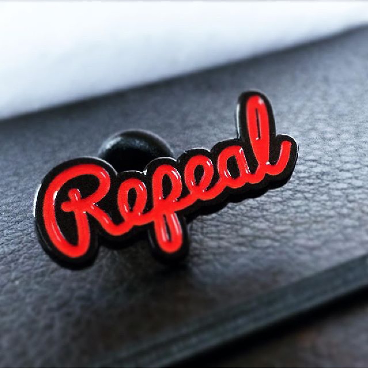 Repeal Enamel Pin