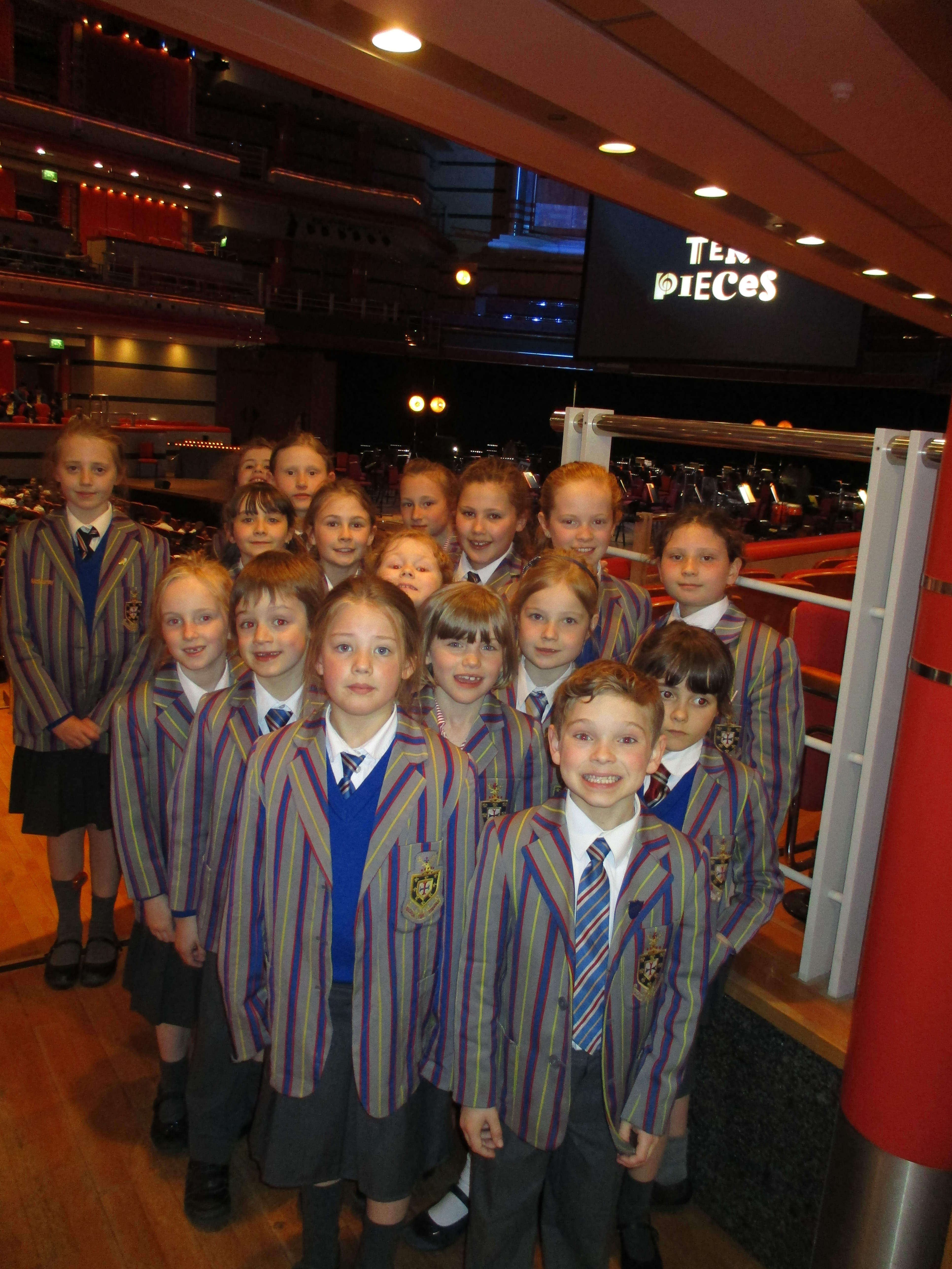 Students Inspired by BBC Concert Orchestra at Symphony Hall