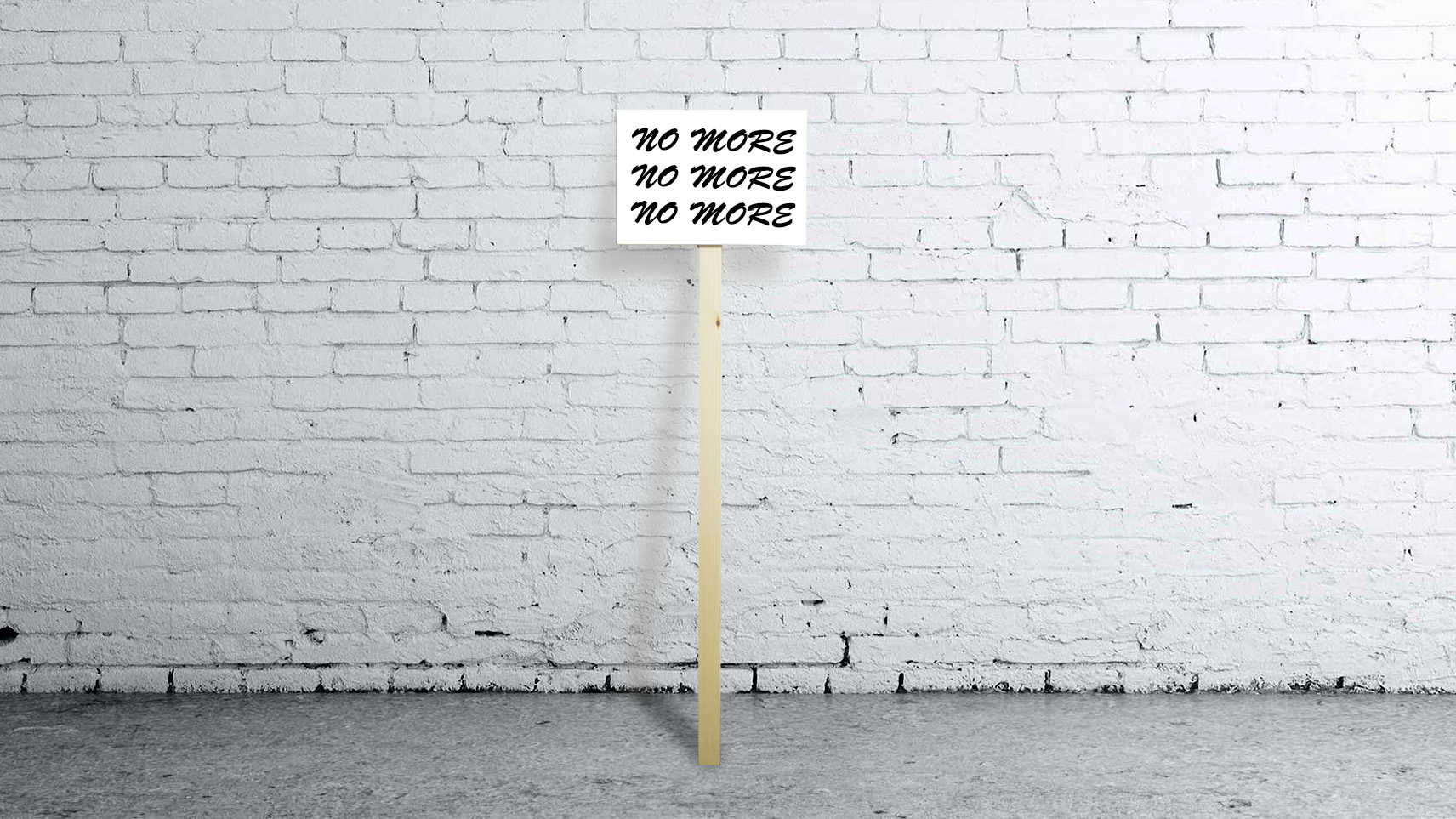Protest sign - with your own text (small)