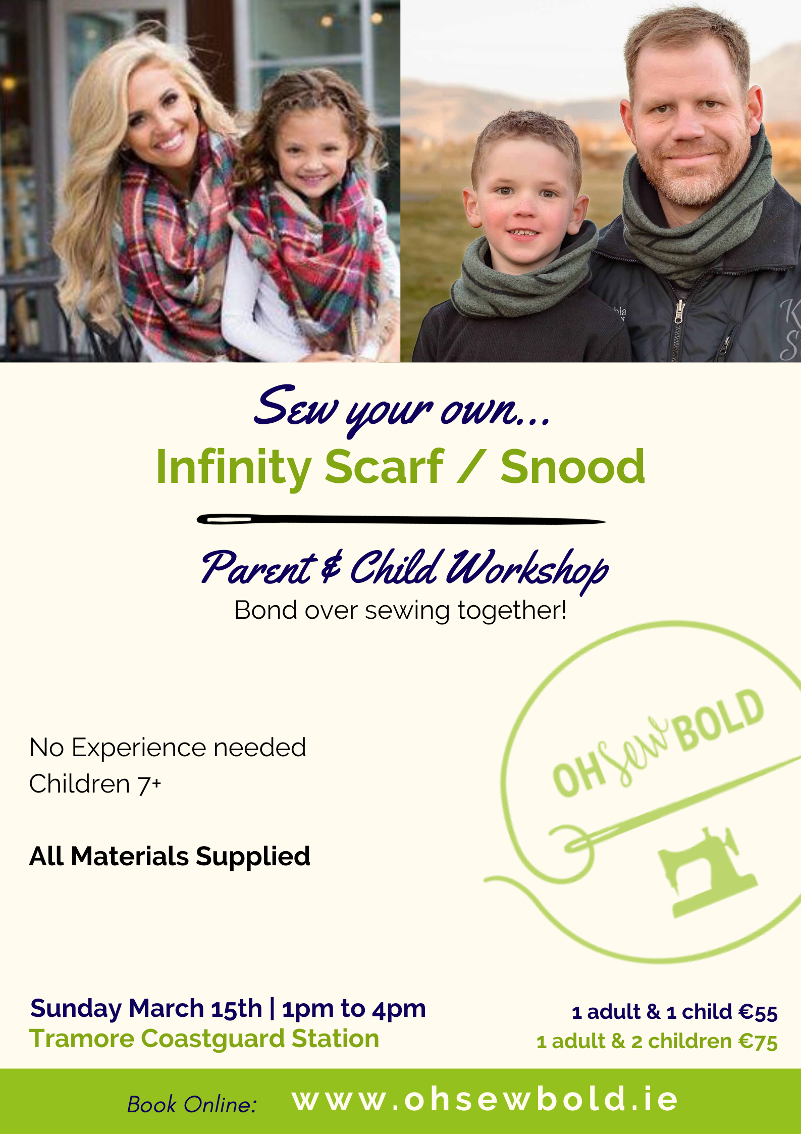 Infinity Scarf / Snood - Parent & Child Workshop
