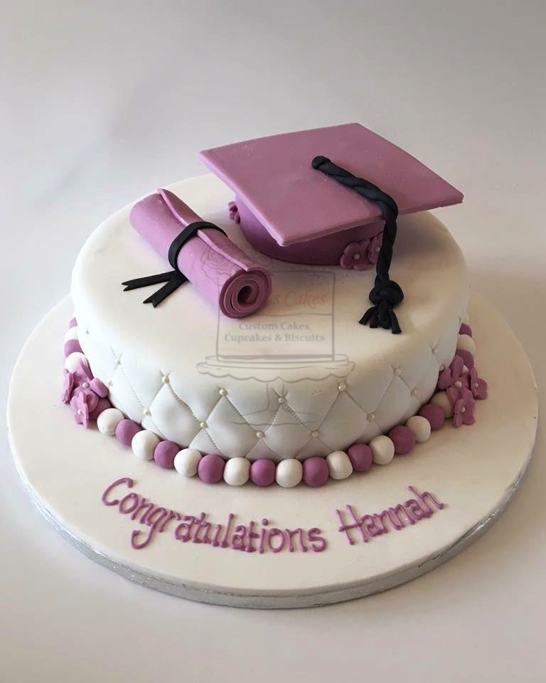 Purple Graduation Hat