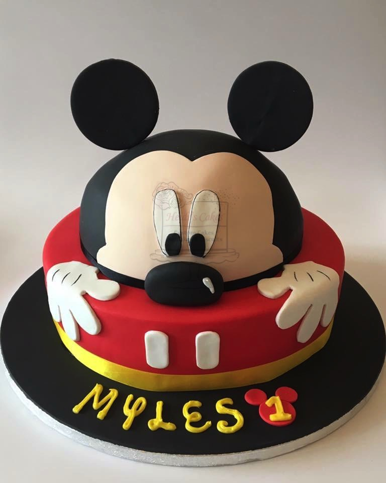 Mickey Mouse 2 Tier