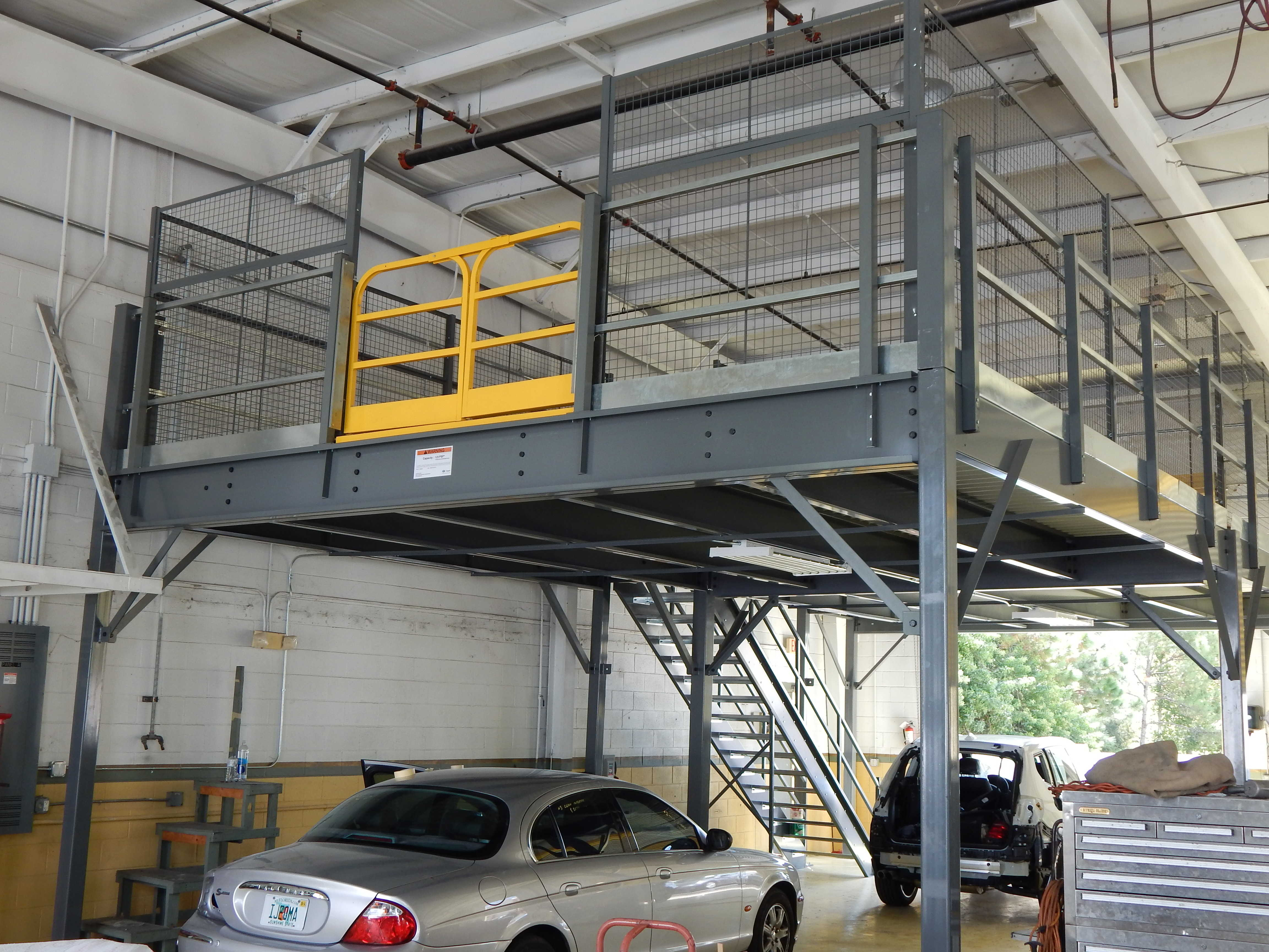 Mezzanine Design and Install | Material Handling - (New & Used) in ...