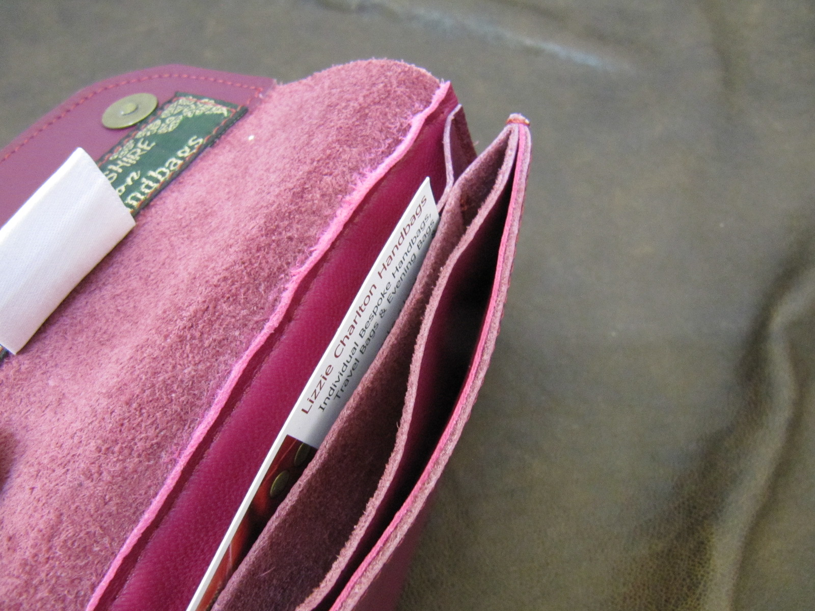 Magenta Leather Wallet