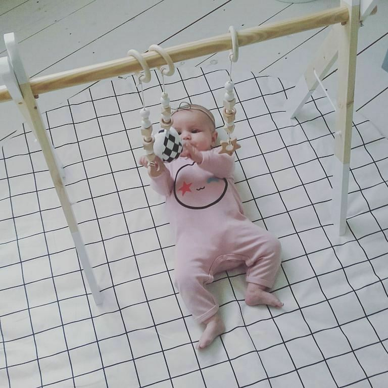 Baby Play Gym - White Frame