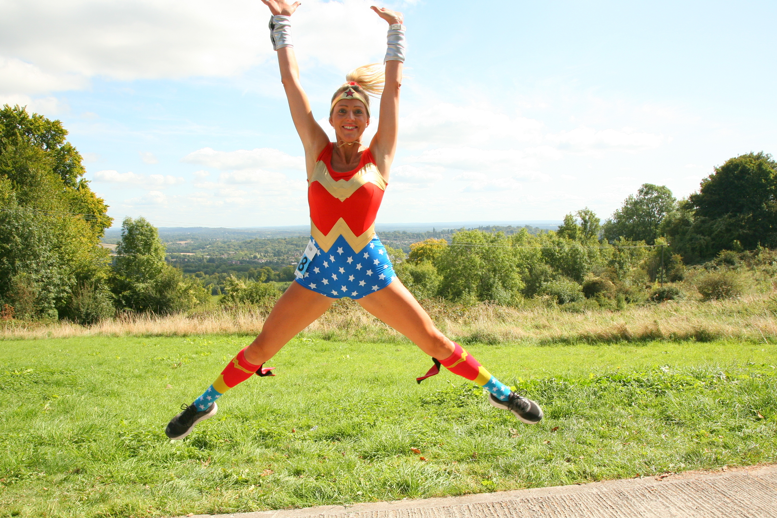super woman star jumpJPG