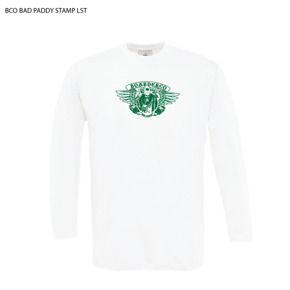 Bad Paddy wings Log sleeve T