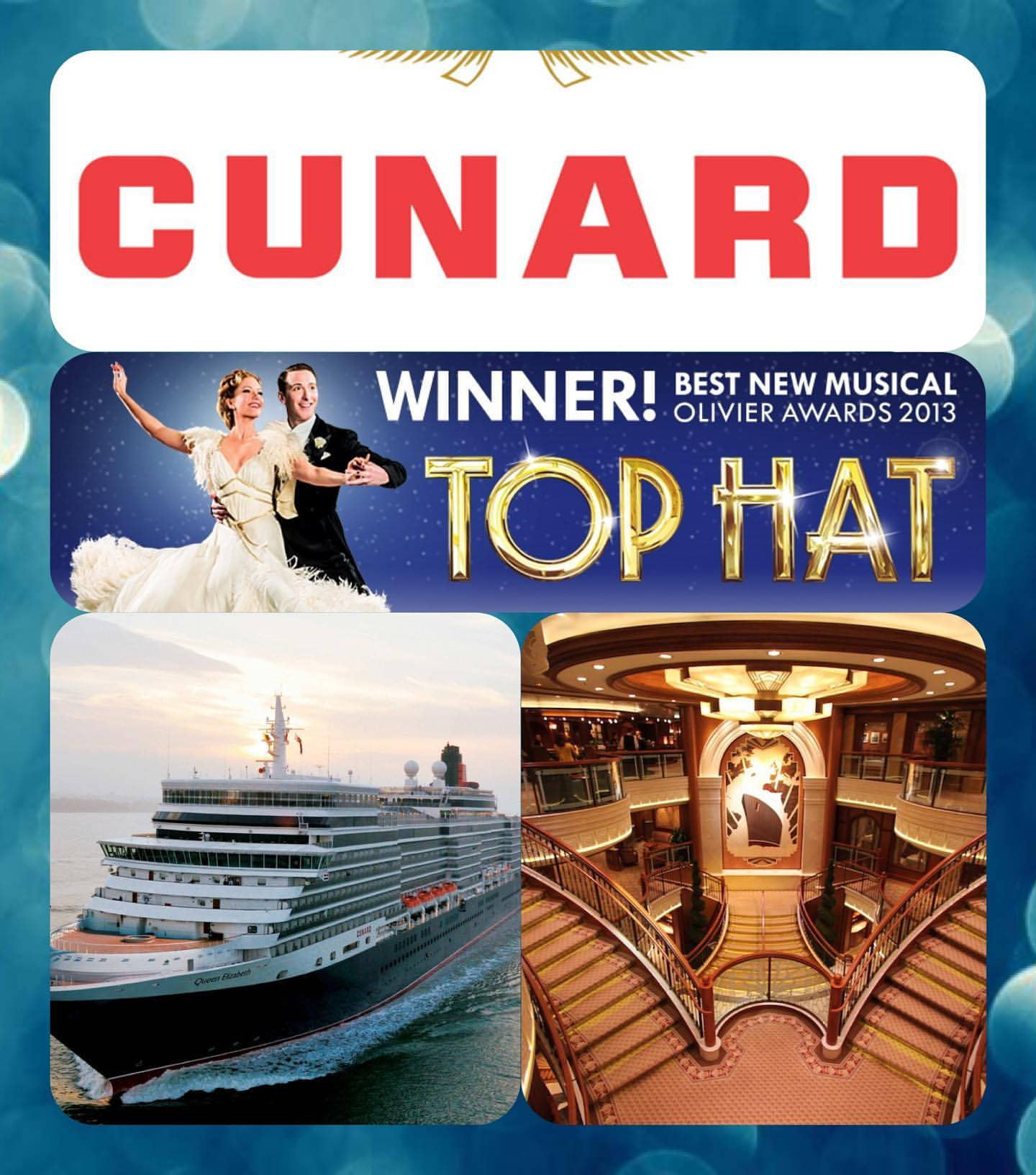 CRUISE - Vocalists & Dancers for CUNARD including new production of 'Top Hat' - LONDON OPEN CALLS