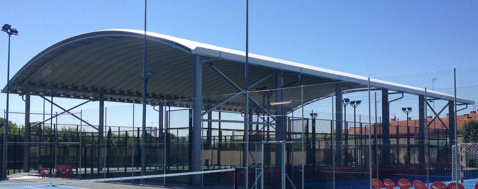 Empresas construccion instalacion cubiertas pistas deportivas