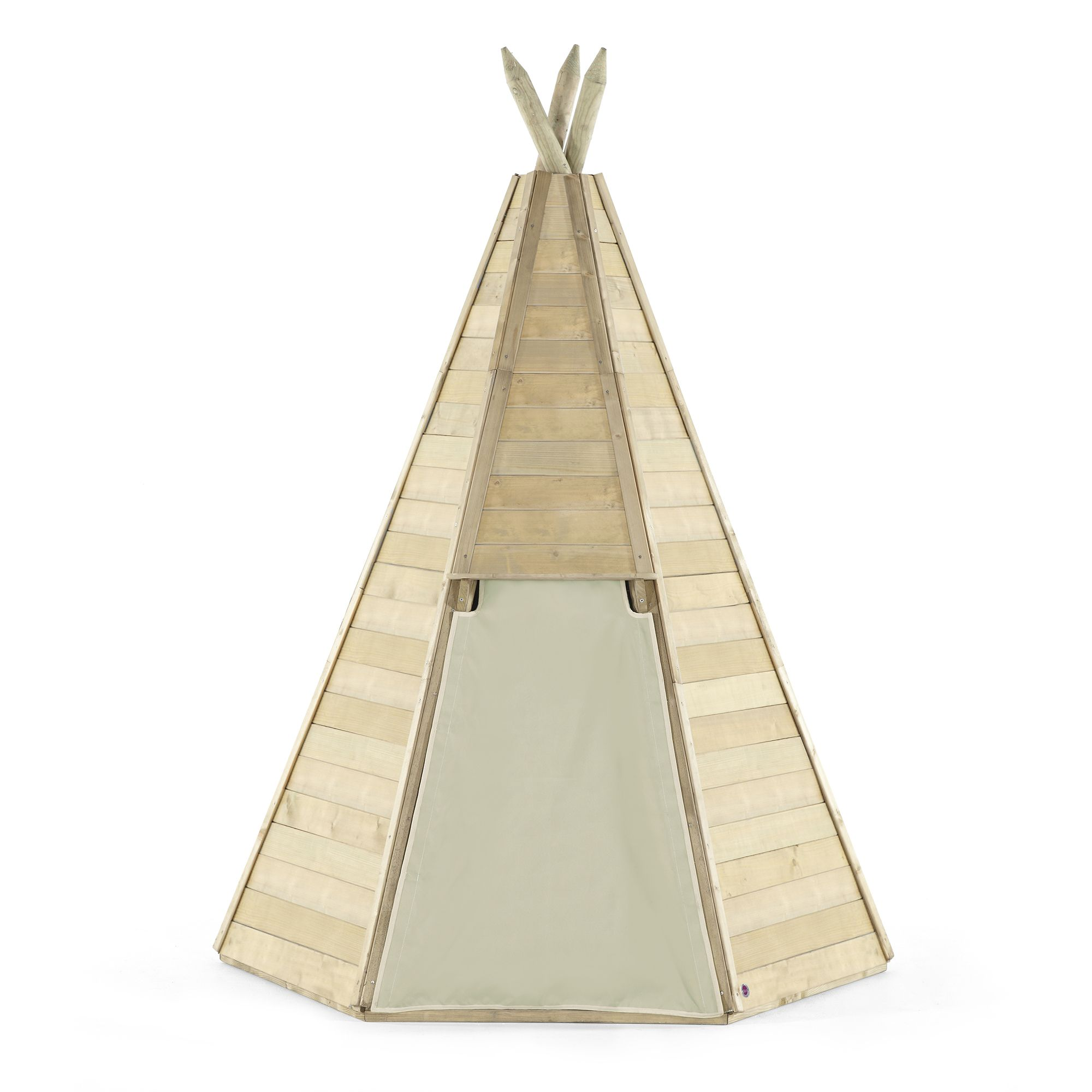 Great Wooden Teepee