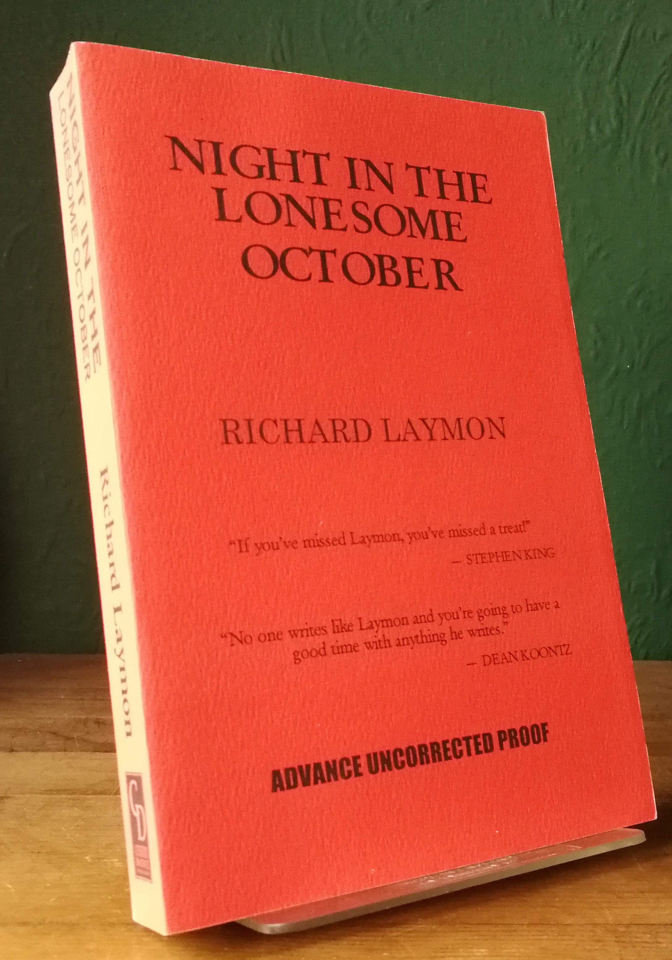 Night In The Lonesome October US Proof