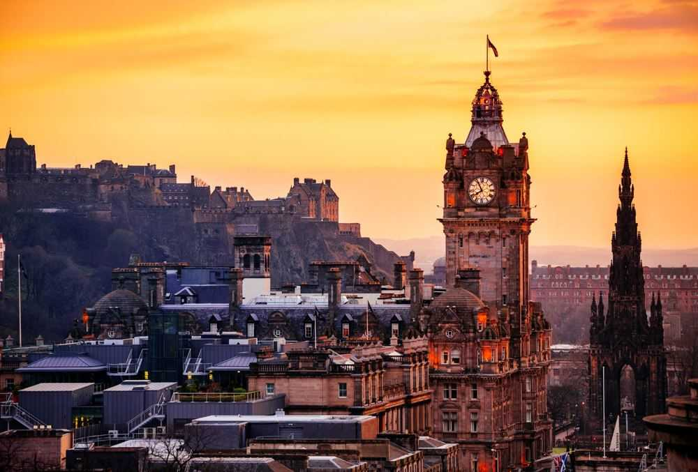 The Capital City - Edinburgh