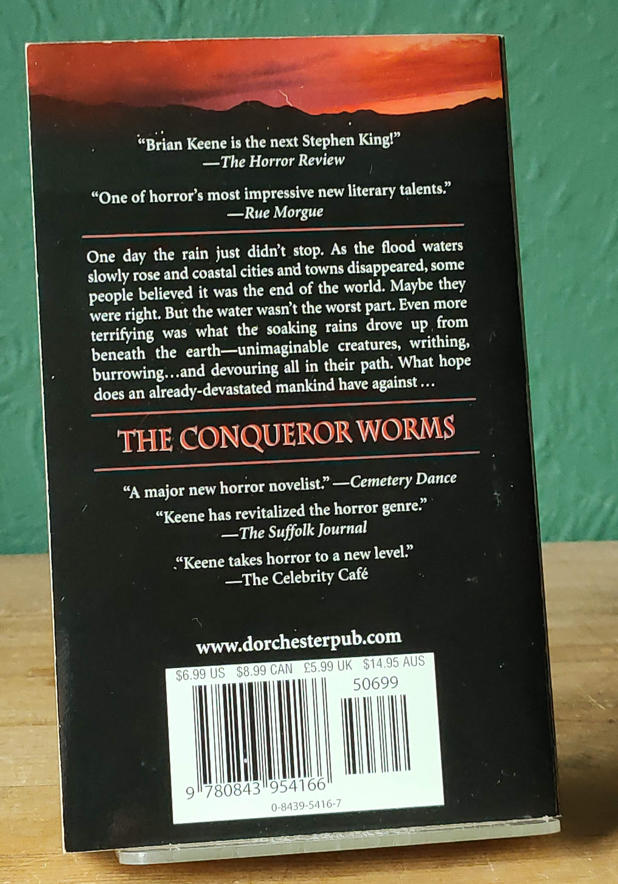 The Conqueror Worms Signed US PB