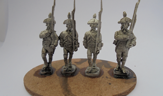 PRUSSIAN GRENADIERS MARCHING UNIT